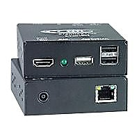 NTI XTENDEX ST-C6USBHU-300 (Remote and Local Unit) - KVM / USB extender - T