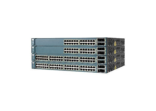 Cisco Catalyst 3560E-48PD - switch - 48 ports - managed - rack-mountable