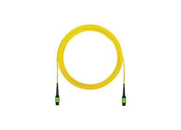 Panduit QuickNet MPO Interconnect Round Cable Assemblies - network cable -