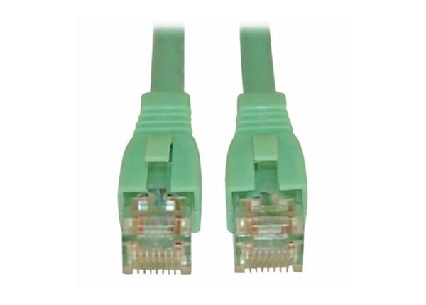 Tripp Lite 20ft Augmented Cat6 (CAT6a) UTP Snagless Patch Cable Aqua 20'