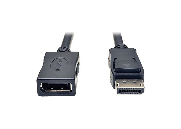 Tripp Lite 6ft DisplayPort Extension Cable with Latches Video / Audio HDCP