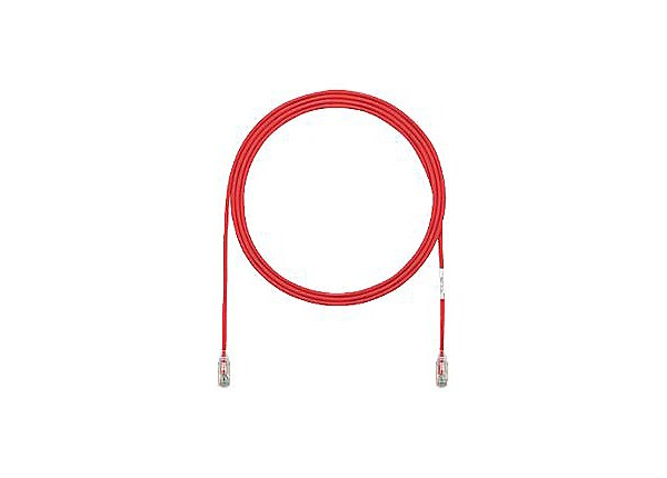 Panduit TX6-28 Category 6 Performance - patch cable - 1 ft - red
