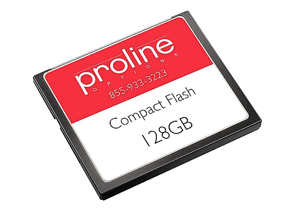 Proline - flash memory card - 128 MB - CompactFlash