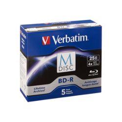 Verbatim M-Disc - BD-R x 5 - 25 GB - storage media