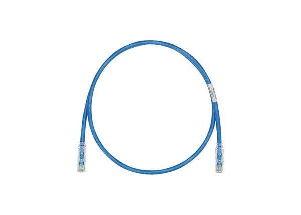 Panduit TX6 PLUS patch cable - 49 ft - blue