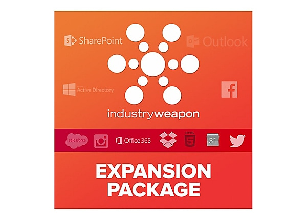 Industry Weapon Expansion Package - license - 1 license