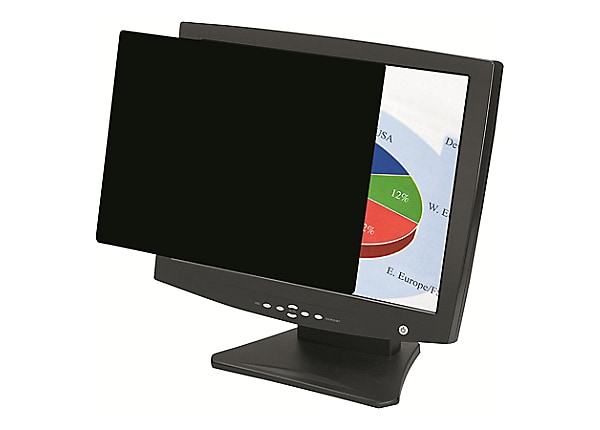 """Fellowes PrivaScreen Blackout - display privacy filter - 27"""" wide"""