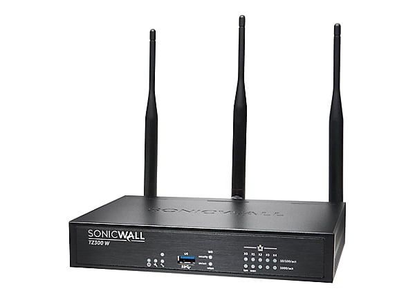 Sonicwall TZ300 Wireless-AC - security appliance - with 1 year TotalSecure