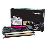 Lexmark - High Yield - magenta - original - toner cartridge - LCCP, LRP