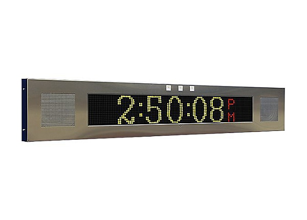 Advanced Network Devices Large IP Signboard IPSIGNL-RWB - clock