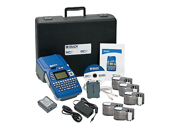 Brady BMP51 - Starter Kit - labelmaker - monochrome - thermal transfer