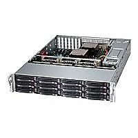 Supermicro SuperStorage Server 6028R-E1CR12T - rack-mountable - no CPU - 0