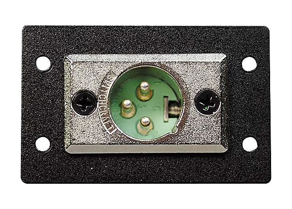 C2G Wiremold Audio/Video Interface Plates (AVIP) XLR 3-pin Male to Solder C