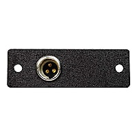 C2G Wiremold Audio/Video Interface Plates (AVIP) Mini XLR 3-Pin Male to Sol
