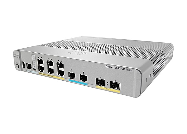 Cisco Catalyst 3560CX-8XPD-S - switch - 8 ports - managed - rack-mountable