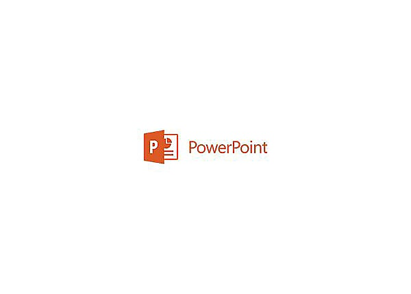 Microsoft PowerPoint 2016 for Mac - license - 1 PC