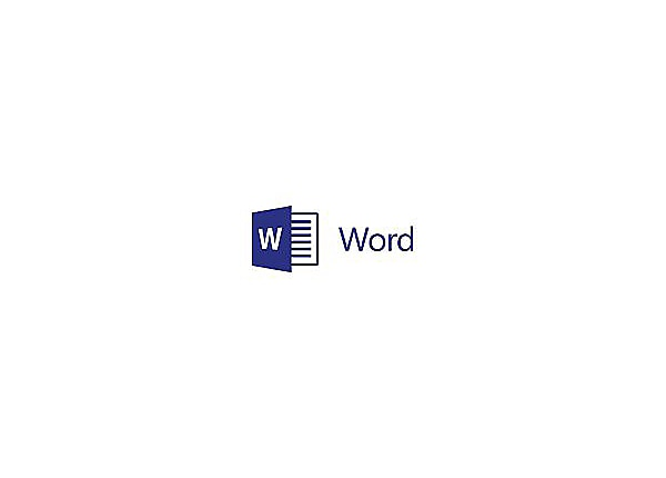 Microsoft Word 2016 for Mac - license - 1 PC