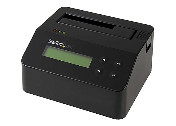 StarTech.com Hard Drive Eraser and Dock for 2.5 / 3.5in SATA SSD - USB 3.0
