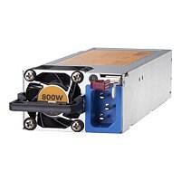 HPE - power supply - hot-plug / redundant - 800 Watt