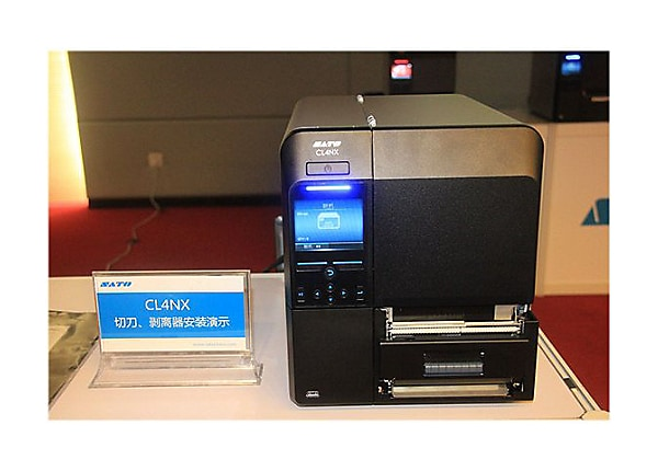 SATO CL 424NX - label printer - monochrome - direct thermal / thermal trans