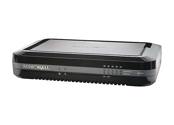 SonicWall SOHO - security appliance - with 1 year TotalSecure