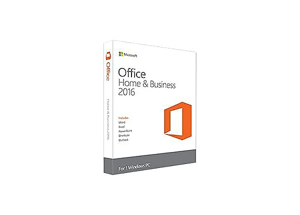 Microsoft Office Home and Business 2016 - box pack - 1 PC