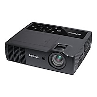 InFocus IN1118HDLC DLP projector - 3D - with InFocus LightCast USB adapter