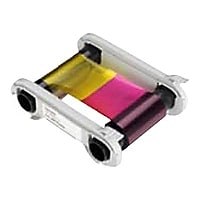 Evolis High Trust YMCKOK Color Ribbon - 1 - color (cyan, magenta, yellow, r