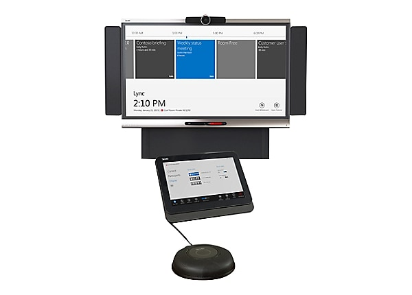 SMART Room System for Microsoft Lync for small rooms - video conferencing k