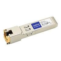 AddOn Brocade E1MG-TX Compatible SFP Transceiver - SFP (mini-GBIC) transcei