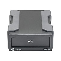 HPE RDX Removable Disk Backup System - RDX drive - SuperSpeed USB 3.0 - ext