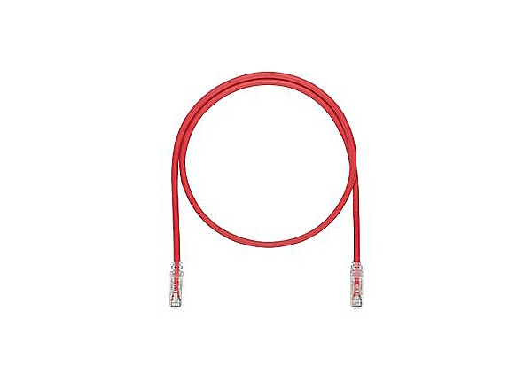 Panduit TX6A 10Gig with MaTriX Technology - patch cable - 10 ft - red