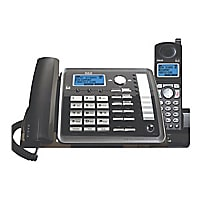 RCA ViSYS 25255RE2 - cordless phone - answering system with caller ID/call