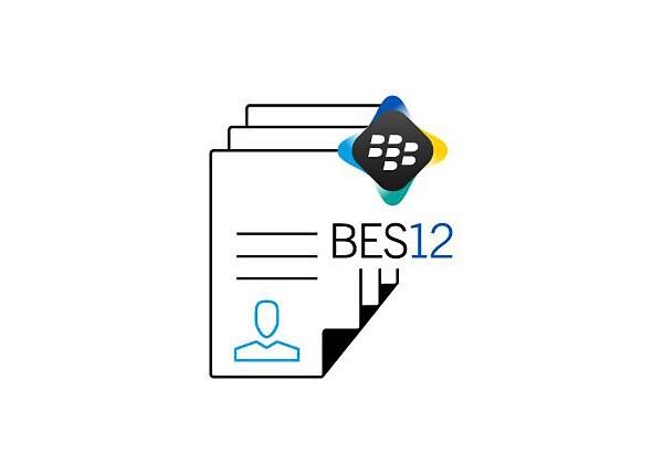 BlackBerry Enterprise Service Cloud Silver Universal Annual Subscription (v