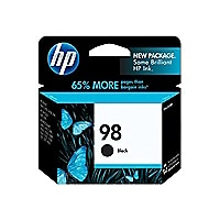 HP 98 - black - original - ink cartridge