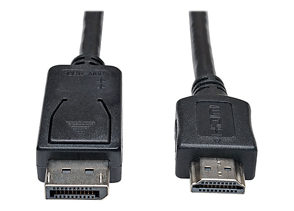 Tripp Lite 10ft DisplayPort to HDMI Cable Adapter Converter 1080P M/M 10'