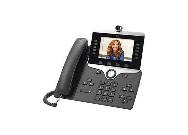 Cisco IP Phone 8845 - IP video phone - with digital camera, Bluetooth inter