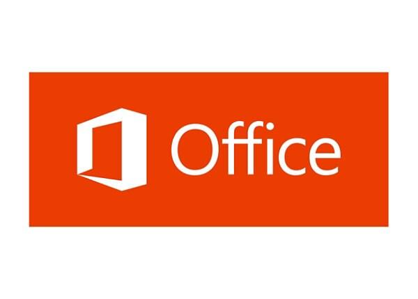 Microsoft Office Standard 2016 - license - 1 PC