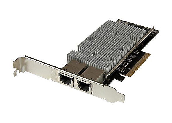 StarTech.com 2-Port 10Gb PCIe Network Card w/ Intel X540 Chip - 10GBASE-T