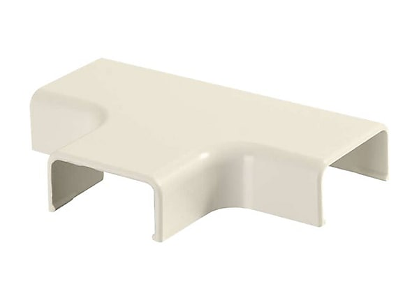 C2G Wiremold Uniduct 2800 Tee - Ivory - cable raceway tee