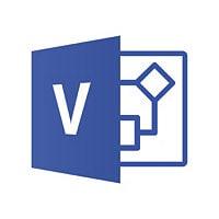 Microsoft Visio Standard 2016 - licence - 1 PC