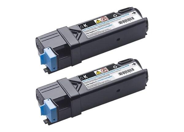 Dell - 2-pack - High Capacity - black - original - toner cartridge