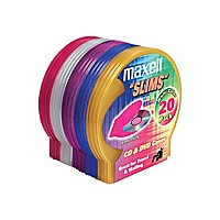 Maxell storage CD slim jewel case