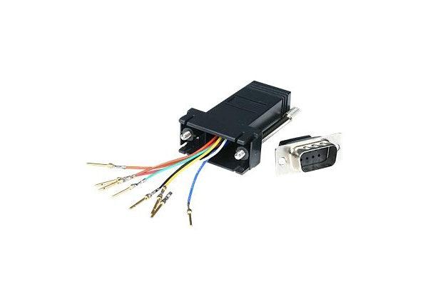 startech com db9 to rj45 modular serial adapter