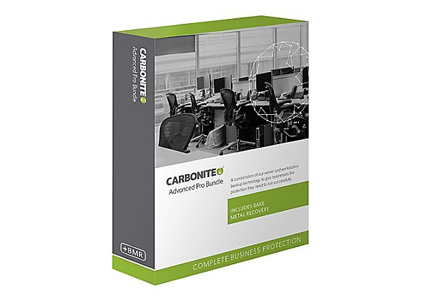 Carbonite Advanced Pro Bundle - subscription license (3 years) - unlimited