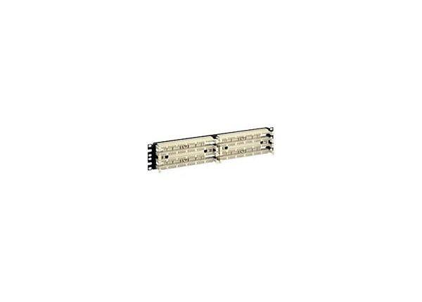 """Panduit PAN-PUNCH 110 - cable management panel - 2U - 19"""""""