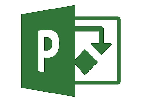 Microsoft Project Standard 2016 - license - 1 PC