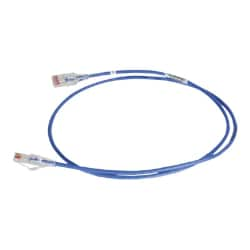 Ortronics Reduced Diameter patch cable - 7 ft - blue