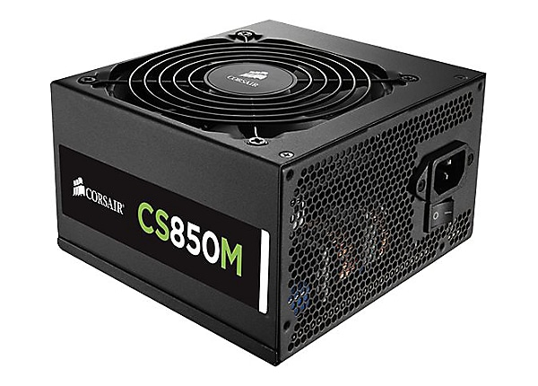 CORSAIR CS Series CS850M - power supply - 850 Watt