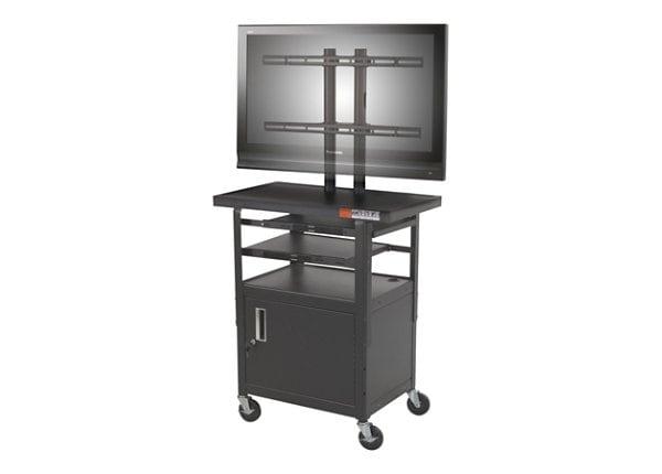 Balt Height Adjustable Flat Panel TV Cart (Complete Unit)